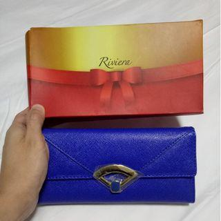 Blue Riviera wallet