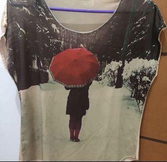 Shirt silky