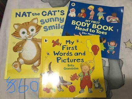 兒童英文圖書 幼兒 故事書 好新淨