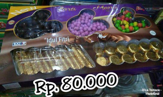 Paket Kue, coklat permen Lebaran