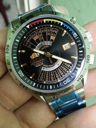 Jam Tangan Orient MultiYear Kalender ORI