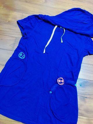 🚚 A la sha寶藍色上衣