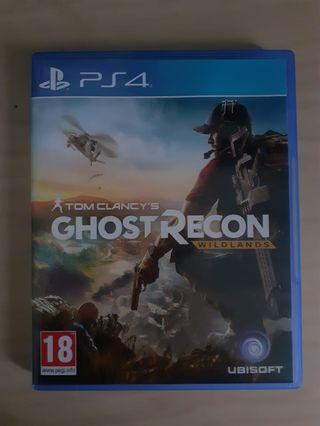 Tom Clancy's Ghost Recon: Wildlands Kaset Ps4
