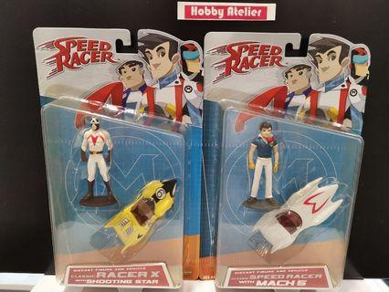 Speed Racer Classic Speed Racer with Mach 5 & Racer X with Shooting Star