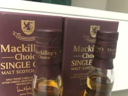 Macallan 1990&1991 Mackilop's Choice