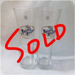 【代放】Maisel's Weisse / 一番榨 / Asahi全新啤酒杯