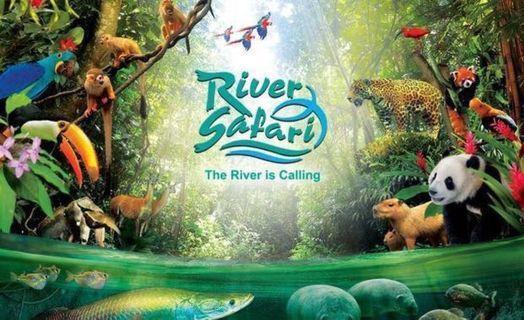🚚 River safari plus boat ride (2tix onhand) 20ea