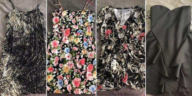 🚚 Bundle sales 4 dresses & rompers all for $15