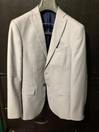 Zara Light Gray Coat