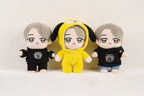 BTS Dolls + 3 outfits
