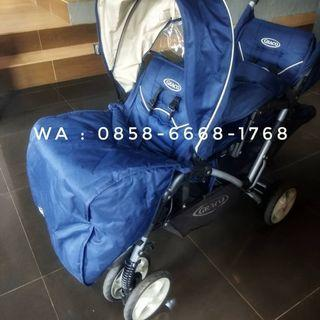 STROLLER GRACO STADIUM DUO DOUBLE  ( Twins Tandem ) #Joinjuli