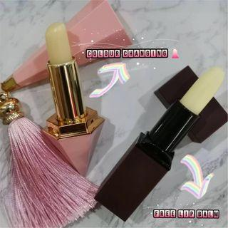 🔥 2019 HOT Lipstick natural colour changing gift for every girl FREE lip balm