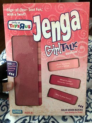 Jenga : Girl Talk Edition