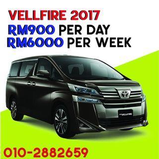 Vellfire car rental kereta sewa