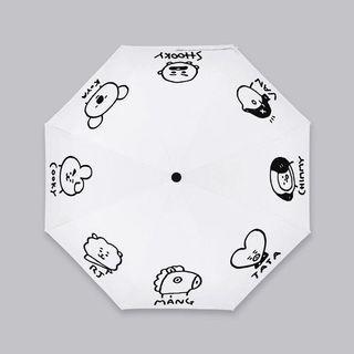 BT21 umbrella mini unofficial PO