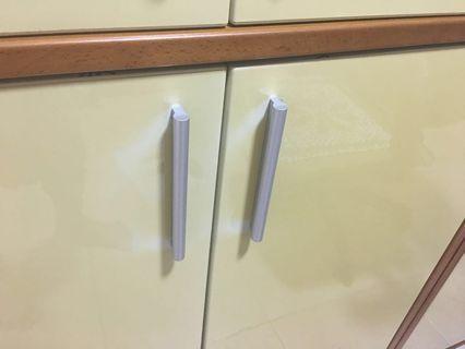Aluminum Door Handle (4 pair) total 8pcs