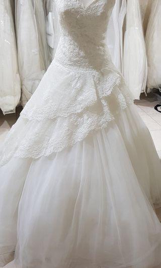 Gaun Pengantin White One Pronovias