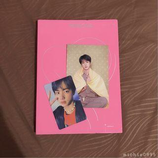 (WTS) BTS MoTS: Persona Jin pc & postcard