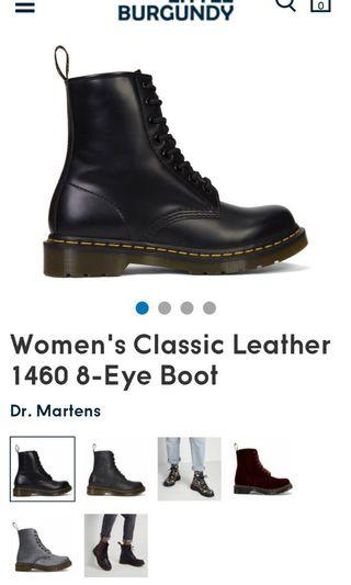 Dr martens women's classic leather 1460 boots