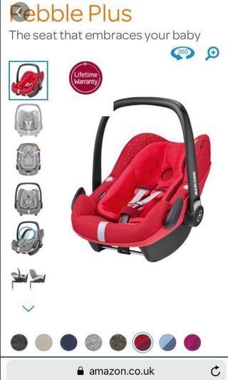 Maxi-Cosi Pebble Plus i-Size Baby Car Seat