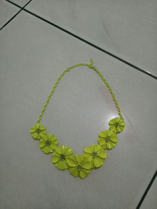 #mauthr kalung hijau