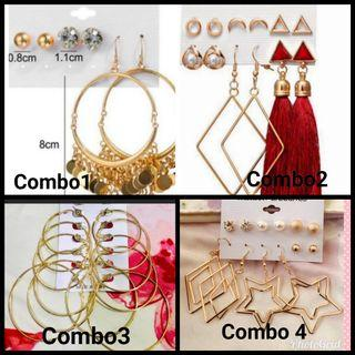 Earing combo set buy any 1 combo  #Rayathon50