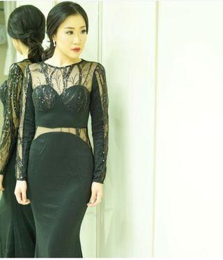 Long dress pesta