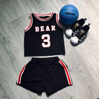 🚚 Cool Hip Hop Basketball Apparel for Toddler
