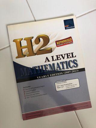A Level H2 Mathematics Yearly Series