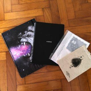 🚚 Notebooks and A5 loose leaf paper