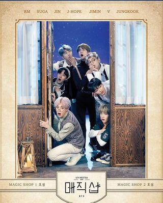 🚚 BTS 5th Muster - Seoul Pop-up card