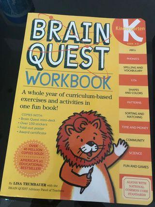 Brain Quest練習書