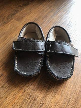 Brown Baby casual shoes - sepatu formal bayi coklat