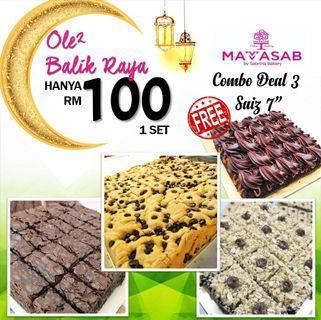 OLE OLE RAYA- Combo Brownies Raya #oleoleraya
