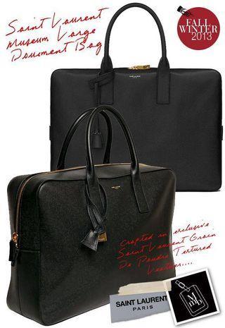 YSL Museum Briefcase