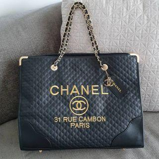 Instock! CC VIP Gift Quilted 31 Rue Cambon Paris Shopping  Tote Bag PO1117002135 + FREE Post! (1)