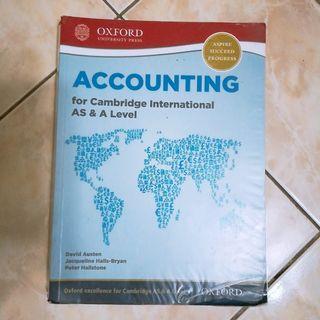 Cambridge AS/A Level Accounting Textbook [Oxford]