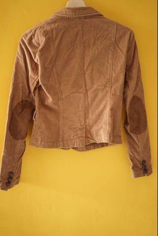 Brown Jacket - blazer - jas - outer - tuxedo - rompi - luaran