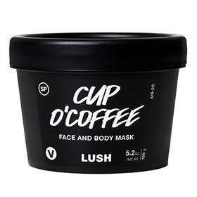 LUSH Cup O' Coffee 125gr SP (Self Preserving) BRAND NEW Face and Body Mask