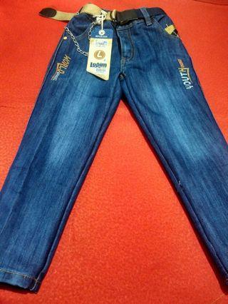 Celana jeans size 5-7thn