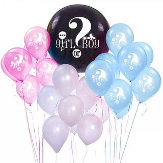 Gender Reveal Party Balloons #01022