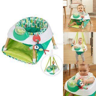 [PO] Evenflo Exersaucer Tiny Tropics 2-in-1 Baby Seat + Door Jumper