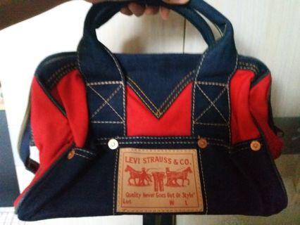 LEVIS牛仔布限量手提包