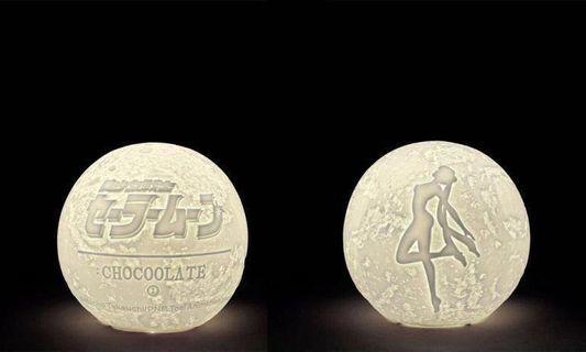 Chocolate x 美少女戰士 月亮燈 (全新)sailormoon