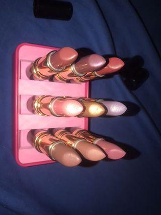 Unused lipsticks ! ( revlon & maybelline the Gigi Hadid collection )