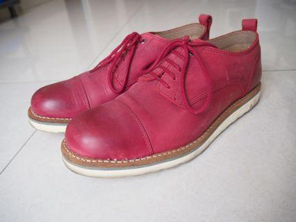 BNV FOOTWEAR - 5 Eye Oxford Cap Toe Boots