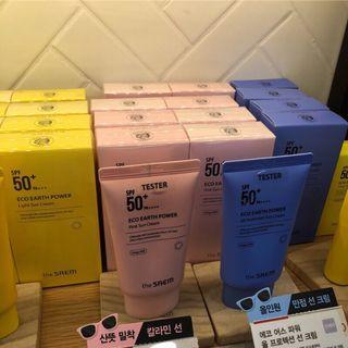 🚚 美妝樂園福利社!the SAEM 粉紅防曬隔離霜 50g SPF50+ PA+++ 韓國代購 現貨