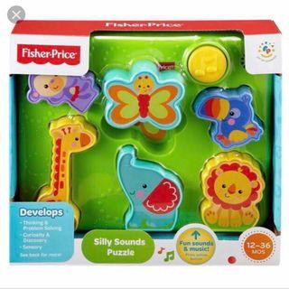 *Giveaway* Fisher Price Silly Sounds Puzzle (with condition)