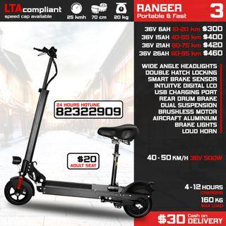 Electric Scooter E Scooter E Scooter Escooter Escooter Scoot Ebike Electric Bike 36V 48V 52V 60V Dualtron Speedway Mini 3 Speedway Mini 4 Speedway 4 Speedway 3 DYU Fiido AM Tempo AM GT AM GTR Battery Seat Charger Light Accessories Tube Repair
