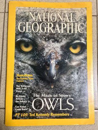 National Geographic December 2002 edition